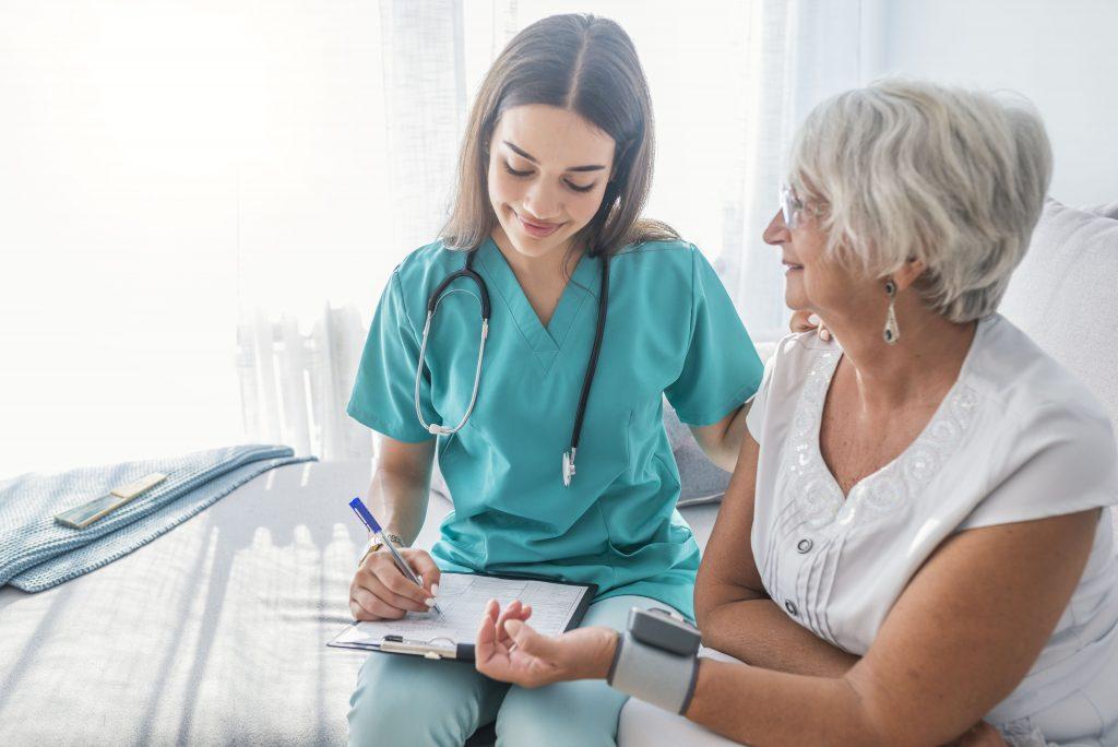 zabiegi pielęgniarskie